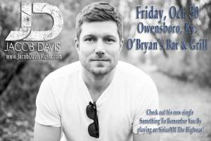 Jacob and the boys will hit Owensboro, Ky., on Oct. 30 for a show